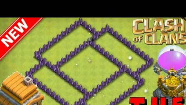 Th5 pushing #1... CLASH OF CLANS INDIA