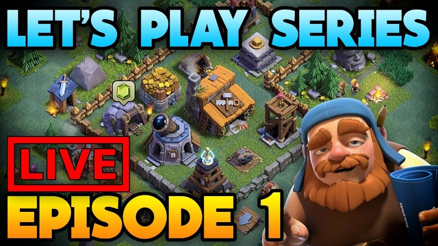 Watch me stream Clash of Clans live base visit