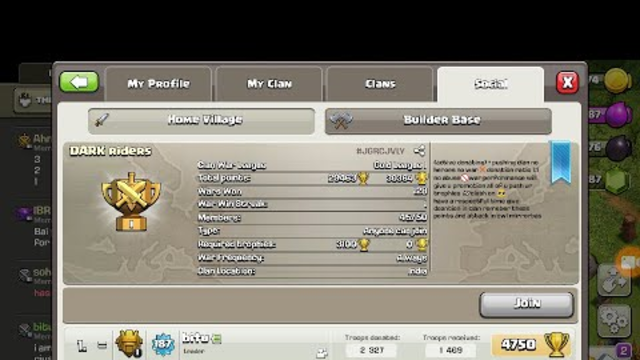 #coc #live if anyone want to give clan can give +base visiting. join our official clan.