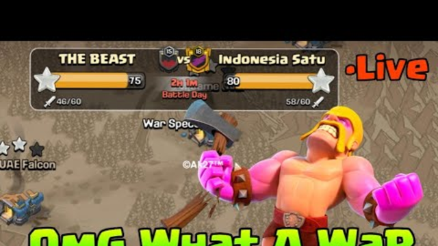 Streak Breaker War EpiC Attacks l Clash of clans