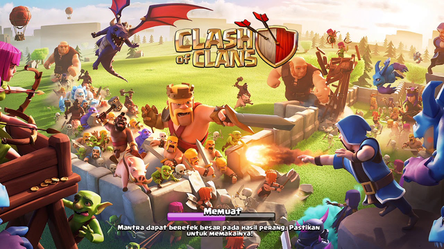 GamePlay Clash Of Clans