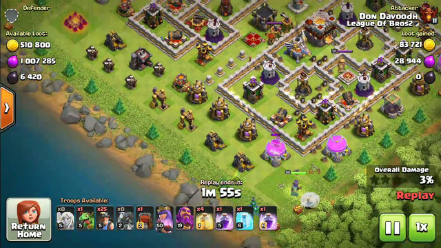 My highest loot in clash of clans(coc) comment yours