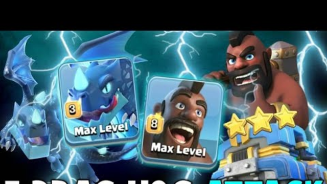 !!New!! Hogs Smashing Th12 2019 | 3 Max Electro + Hogs + 1 EarthQuake Attack | Clash of Clans
