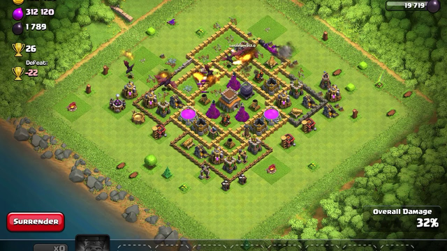Farming For Gold In Clash Of Clans!