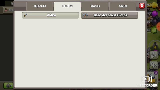 nuevo clan en clash of clans
