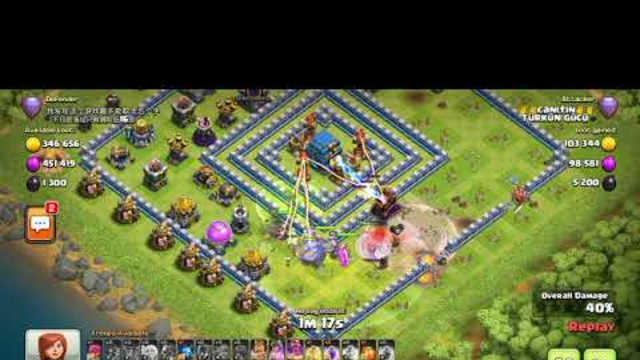 Clash OF Clans   -BOWLER AND WITCH ATTACK