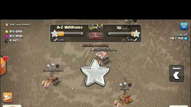 COC  10vs10 Clan Wars / rush TH noob attack