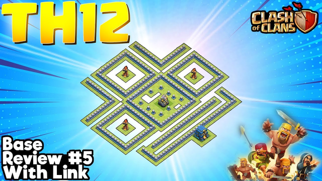 *SHOCKING* TH12 Legend League & War Base (With Link) #5 - Clash of Clans