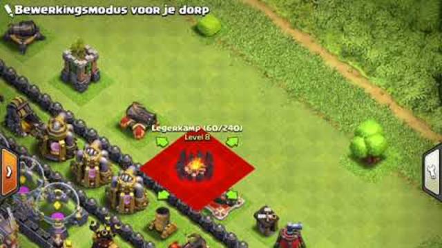 Clash of clans dorp maken