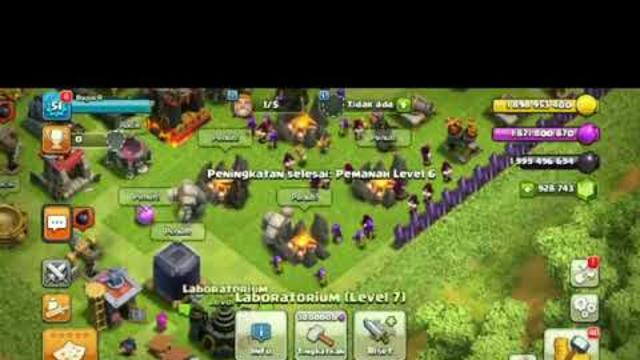 Update Terbaru Clash Of Clans Mod Apk (Free Semuanya ) Nyesel Gak download!!1.mp4