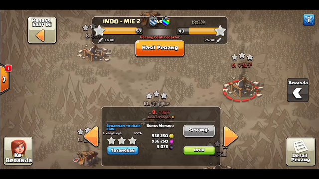 Clash of clans attack war th 12