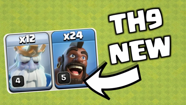 NEW GHOSTHOGS  FOR TH9! Clash of Clans India