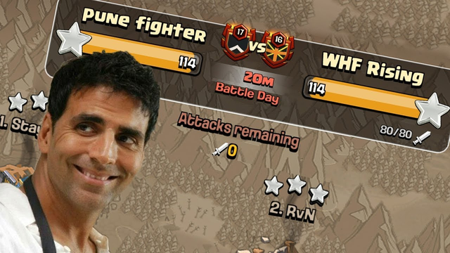 """""""L"""" Lag Gaye   Pune Fighter vs WHF Rising Clash of Clans - COC"""