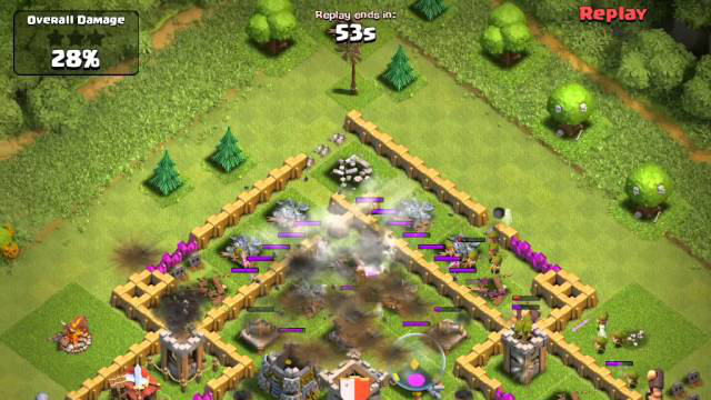 Clash of Clans - New X-Bow in Action