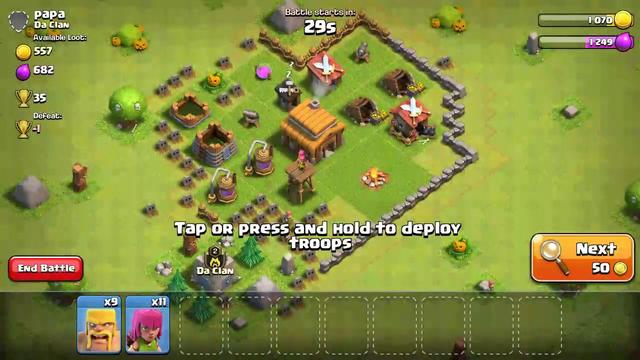 CoC th2 attack strategy BArcj   clash of clans th2 attack strategy