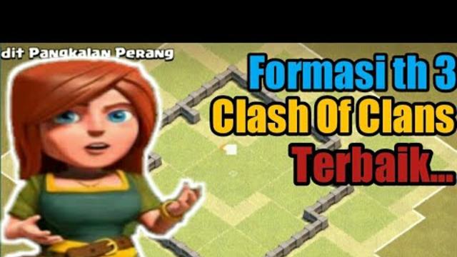 Formasi th 3 Terkuat dan tidak terkalahkan !!! --Clash Of Clans--