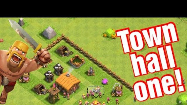 I'm TH1! | Clash of Clans episode 1