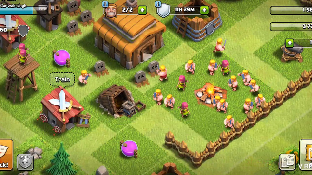 Clash of clans giant battle