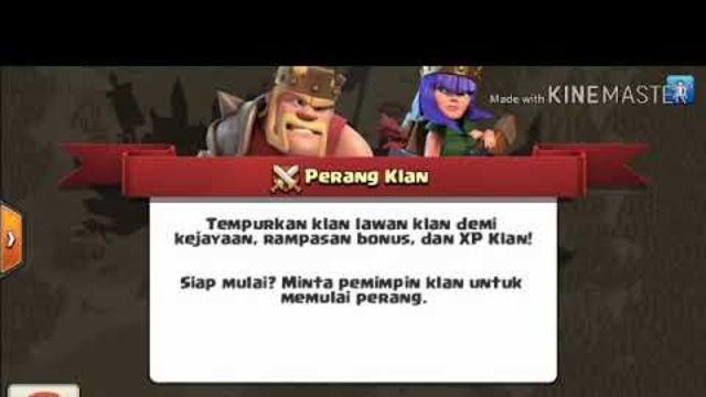 Bermain Clash Of Clans di Town Hall 3.