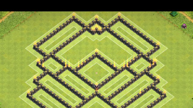 Clash of Clans Town Hall 9 Shield Guard Base
