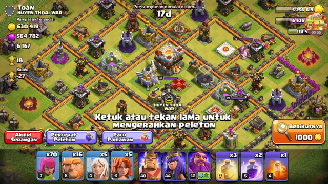 Clash Of Clans - COC TH11 Farming #13
