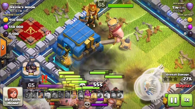 Clash of clans funny moment