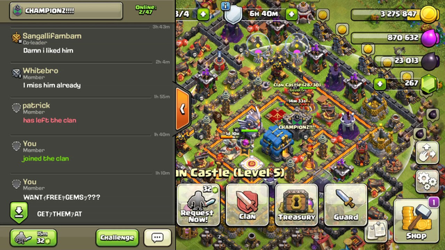 Clash of clans scammers