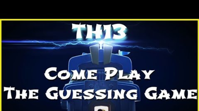 Clash of Clans - Play The Guessing Game