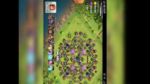 Every CoC player must watch  TH9 max attack
