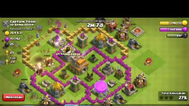 CLASH OF CLANS | TOWN HALL 7 GIANTS ATTACK