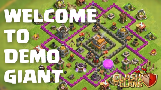 WELCOME TO DEMO GIANT | Clash Of Clans