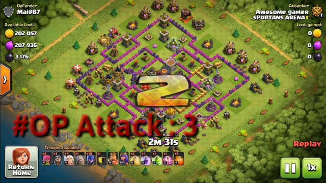 OP Witch Slap Attack Strategy For TH9 | Without CC Troops use | Clash of Clans - COC