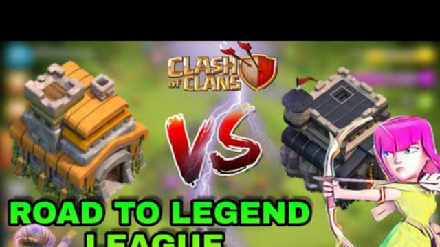 TH7 VS TH9 || ROAD TO LEGEND LEAGUE || CLASH OF CLANS ||