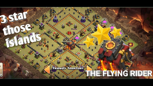 TH10 WAR ATTACK STRATEGIS. ISLAND BASES ? NO PROBLEM.- CLASH OF CLANS