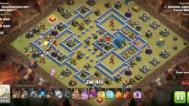 Clash of Clans, CV12, 100% HOG