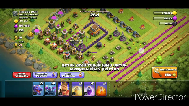 Clash of Clans  Mantap Slurrrrr!!!