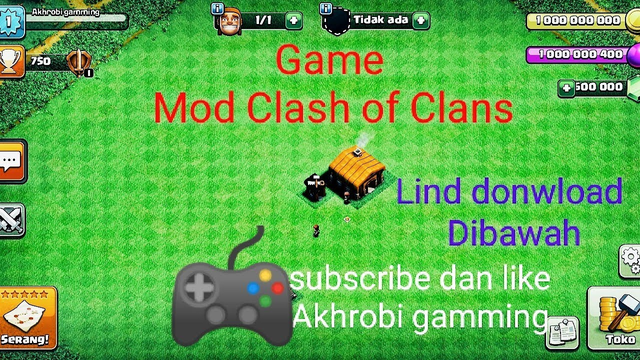 MOD GAME CLASH OF CLANS