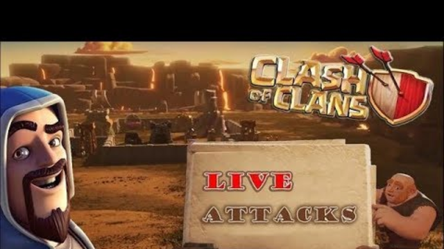 lets visit your bases in clash of clans||Sandeep gamer is live||road to 100 subs||