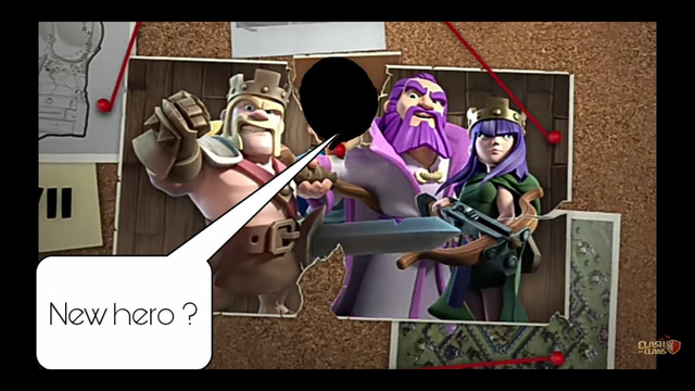 New hero in clash of clans?New troop? Siege machines? Clashing Lovers
