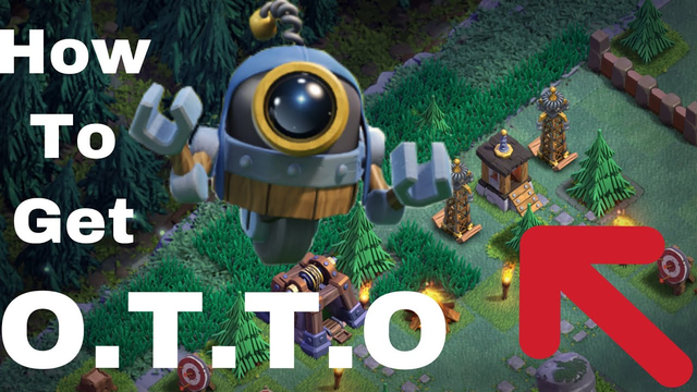 How To Unlock OTTO Fast! BH9 Attack And Good Base With Link | Clash Of Clans