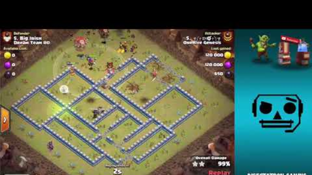 CRAZY Queen Charges Broken Down   Clash of Clans1.mp4
