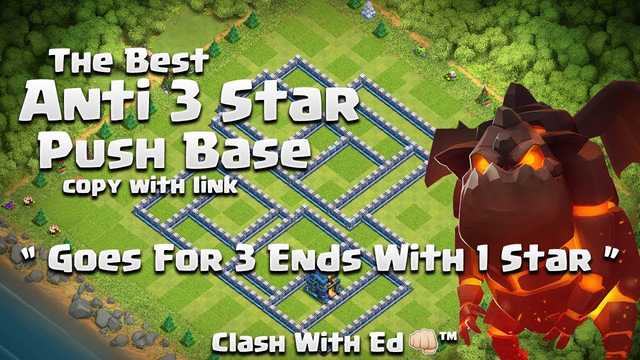 Goes For 3 Stars Gets One Star - Clash of Clans