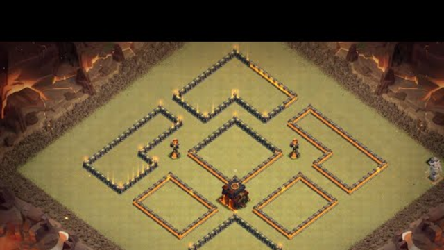 AWESOME TH10 WAR BASE 2019. WITH REPLAYS. LINK LAYOUT. CLASH OF CLANS