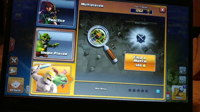 Clash of clans somthing is wrong whenever I attack