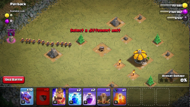 Clash of clans all wall breakers