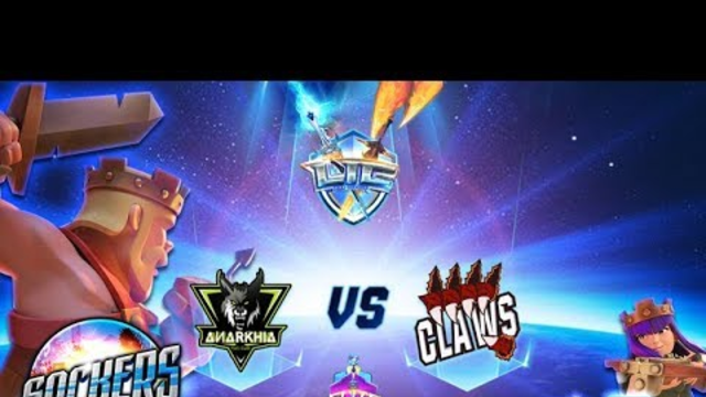 LIVE LIC ELITE 4tos de FINAL | ANARKHIA VS. CLAWS | CAST SOCKERS CLASH OF CLANS