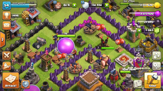 Clash of Clans Gameplay Part 108 !!