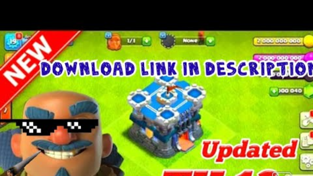 COC mod th 13|| coc mod APK 100% working|| gamester yash