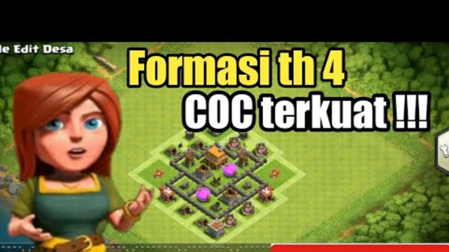 Formasi clash of clans th 4 terkuat !!! Clash of clans indonesia