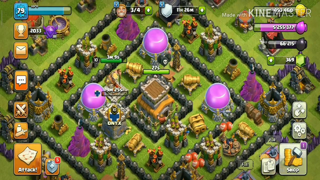 Typical town hall 1 to 12 in 1 vedio ||clash of clans